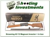 Browning A5 12 Magnum 26in Invector + Vent Rib