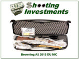 Browning 2015 A5 Duck Unlimited New, Unfired, Perfect!
