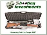Browning Gold SL (Super Light) 20 Gauge ANIC