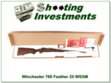 Winchester Model 70 Featherweight 25 WSSM ANIC