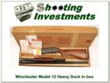 Winchester Model 12 1957 Heavy Duck in box with papers!