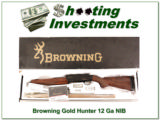 Browning Gold Hunter 3.5in NIB!