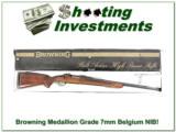 Browning Medallion Grade Belgium 7mm ANIB!