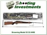 Browning Model 52 22 Rimfire ANIB!