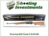 Browning BAR Grade II 30-06 68 Belgium unfired in box!