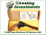 Ruger Blackhawk 357 Max Maximum 71/2in NIB