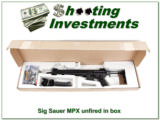 "Sig Sauer SIG MPX Carbine 16"" 9mm unfired in box"