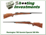 Remington 700 Varmint 308 Win Heavy Barrel