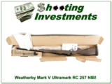 Weatherby Mark V Ultralight RC 257 new unfired in box!