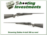 Browning A-bolt II Stalker 308 Win, looks new!