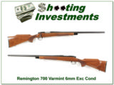 Remington 700 BDL Varmint Special 6mm Rem Exc Cond!