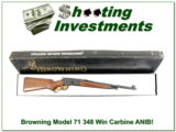 Browning Model 71 Carbine 348 Win new in box