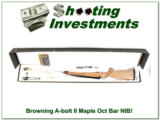Browning A-bolt II Maple Octagonal 243 NIB!