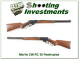 "1966 Marlin Model 336RC 336 35 Rem 20"" JM Exc Cond!"
