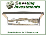 "Browning Maxus Mossy Oak 26"" 12 Ga in box!"
