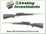 Blaser R93 R 93 Professional 270 Win near new!