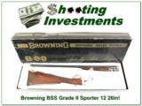 Browning BSS Grade II Sporter 28in in BOX!
