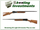 Browning A5 Light 20 28in Invector Plus as new