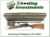 Browning A5 Magnum 20 75 Belgium in box!