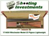 Winchester Model 23 Lightweight Pigeon Grade