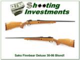 Sako AV Deluxe 30-06 Exc Cond Blond wood!