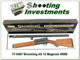 Browning A5 Magnum 12 Ga 1967 Belgium in box!