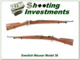 Husqvarna 1942 Swedish Mauser 6.5x55 Model 38