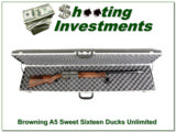 Browning A5 12 Gauge Ducks Unlimited XX Wood!
