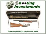 Browning Model 42 High Grade 5 410 Gauge ANIB