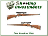 Steyr Mannlicher 30-06 Exc Cond with factory scope