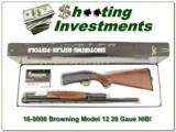 Browning Model 12 28 Gauge NEW in BOX!