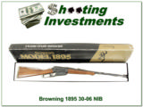 Browning 1895 30-06 Level New in Box!