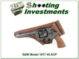 Smith & Wesson Model 1917 in 45 ACP made in 1918