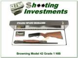 Browning Model 42 410 unfired and NIB Box!