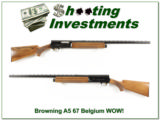 Browning A5 67 Belgium Light 12 as new!!!