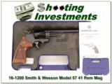 Smith & Wesson 57-6 41 Magnum in case!