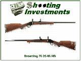 Browning Model 78 25-06 Heavy Barrel