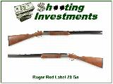 Ruger Red Lable 20 Ga 28in tubes English Stock