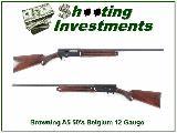 Browning A5 1953 Belgium 12 Gauge Restored