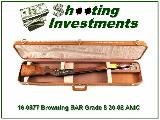 Browning BAR Grade 5 30-06 ANIC XX Wood!