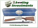 Browning A5 Classic Belgium as new in box!