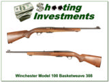 Winchester Model 100 308 Basket Weave Exc Cond!
