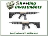 Areo Precision 300 Blackout Pistol SBR Like