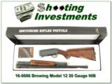 Browning Model 12 20 nice wood NIB