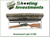Browning A5 Light 12 RARE 1976 as new in box!!!