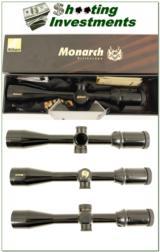 Nikon Monarch 3-12 side AO GLOSS NIB!