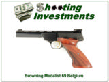 Browning Medalist 22 LR 1969 Belgium