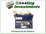 Colt Anaconda 8in Stainless in case with box!
