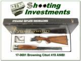 Browning Citori 410 looks new!