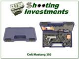 Colt Mustang Pocketlite 380 SS Lazermax 3 Mags